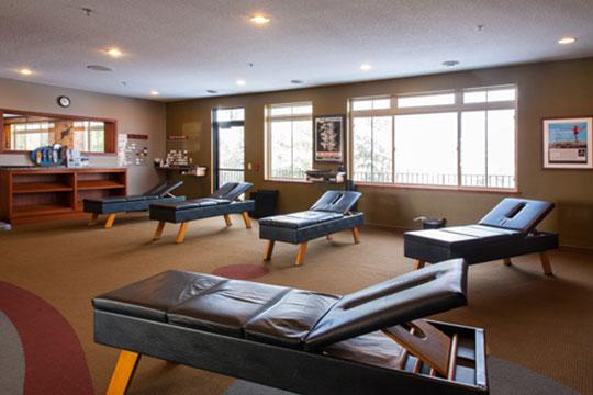 Chiropractic Burnsville MN Adjustment Room