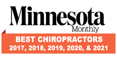 Minnesota Monthly Best Chiropractors 2017 through 2021